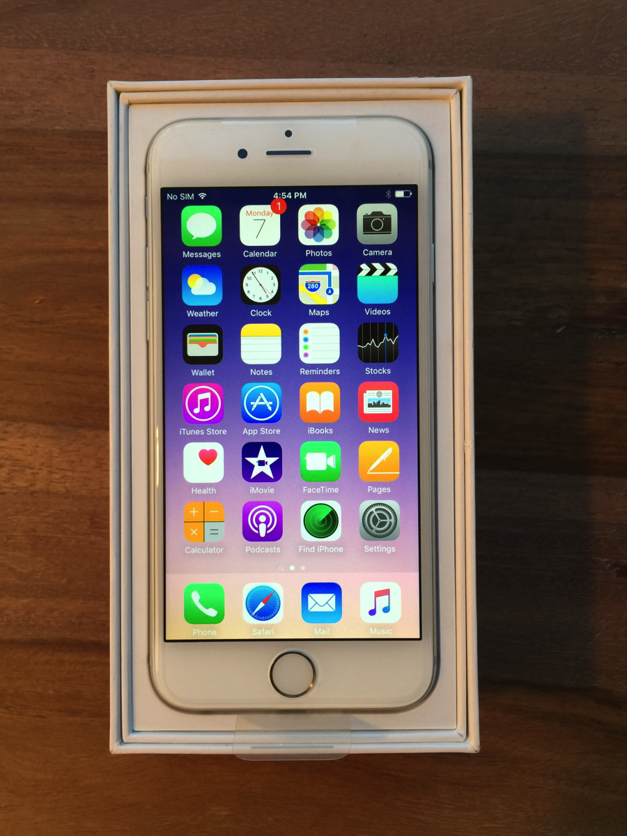 joshua schaible iphone 6 silver 64gb for sale in ann arbor mi. Black Bedroom Furniture Sets. Home Design Ideas